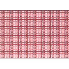 Указатель напряжения 12 В, 20х10 мм., 315 шт. на листе