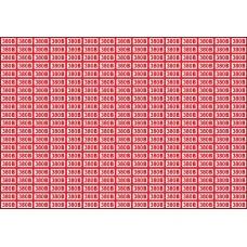 Указатель напряжения 380 В, 20х10 мм., 315 шт. на листе