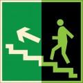 ФЭС-E16. Направление к эвакуационному выходу по лестнице вверх