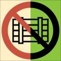 ФЭС-P12. Запрещается загромождать проходы и (или) складировать