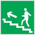 E16. Направление к эвакуационному выходу по лестнице вверх