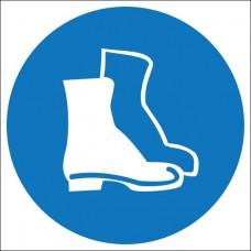 M05. Работать в защитной обуви