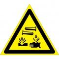 W04. Опасно. Едкие и коррозионные вещества